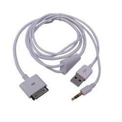 Microconnect IP1001 1x USB, 1x 3.5mm Wit mobiele