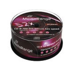 MediaRange MR207 CD-R 700MB 50stuk(s) lege cd
