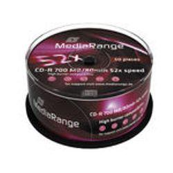 MediaRange MR207 CD-R 700MB 50stuk(s) lege cd