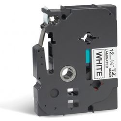 TZE231 Schriftbandkassette 12mm8m white/black P-touch 200/300/500series Mindestabnahme 20pic