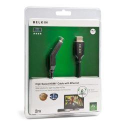 Belkin HDMI M/M 2m 2m HDMI HDMI Zwart HDMI kabel