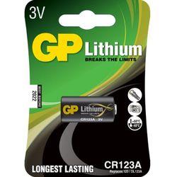 GP Batteries Lithium CR123A Lithium 3V niet-oplaadbare