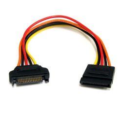 StarTech.com 20cm 15-pins SATA Verlengkabel Voeding
