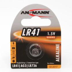 Ansmann Battery LR 41, 1.5 V
