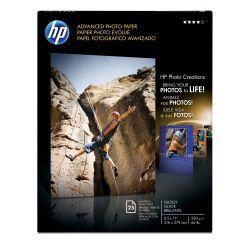 HP Advanced Glossy pak fotopapier Wit Glans
