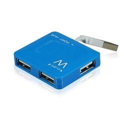 Ewent . Hub interfaces: USB 2.0. Overdrachtssnelheid: 480 Mbit/s. Kleur van het product: BlauwHoeveel USB-apparaten heb jij in h