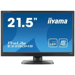 "iiyama ProLite E2280HS-B1 21.5"" Full HD TN+Film Zwart computer monitor"