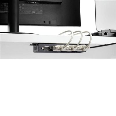 StarTech.com 4-poort USB naar DB9 RS232 Seriële Adapter Hub Industrieel DIN-rail en Wandmontage