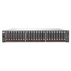 HPE Hewlett Packard Enterprise P2000 G3 10GbE iSCSI MSA Dual Controller SFF, HDD, serieel Attached SCSI, RJ-45, Rack (2U)
