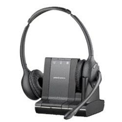 Plantronics Savi W720 DECT Stereofonisch Hoofdband Zwart