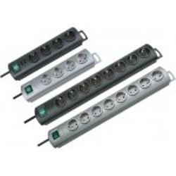 Brennenstuhl Primera-Line 8AC outlet(s) 2m Zilver