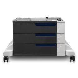 HP LaserJet Color papierinvoer en standaard voor 3 x 500 vel