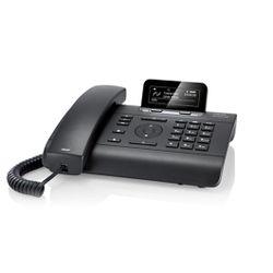 Gigaset DE310 IP PRO Handset met snoer 2regels Zwart IP telefoon