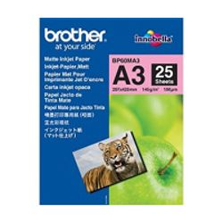 Brother BP60MA3 Inkjet Paper A3 (297×420 mm) Mat Wit papier voor inkjetprinter-BP60MA3