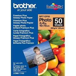 Brother BP71GP50 Premium Glossy Photo Paper Wit pak