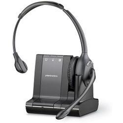 Plantronics Savi W710 Monauraal Hoofdband Zwart hoofdtelefoon