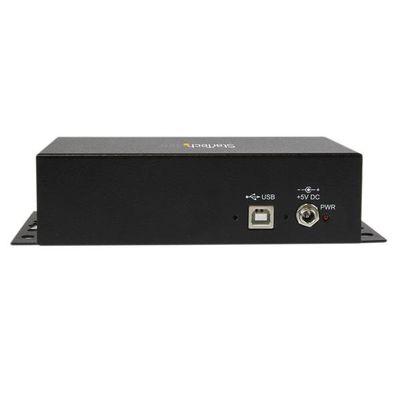 StarTech.com 8-poort USB naar DB9 RS232 Seriële Adapter Hub Industriële DIN-rail en Wandmontage