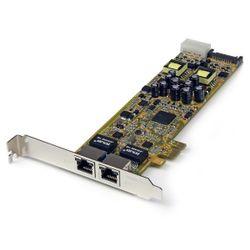 StarTech.com Dual Port PCI Express Gigabit Ethernet PCIe-netwerkkaart adapter PoE/PSE