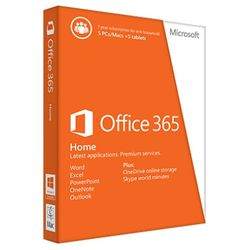 Microsoft Office 365 Home – 5 pc's of Macs, 5 tablets en 5 smartphones