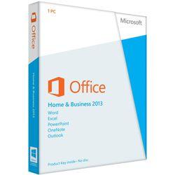 Microsoft Office Home Business 2013 (EN)  Word, Excel, PowerPoint, OneNote, Outlook  Windows  Engels