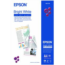 Epson Bright White Ink Jet Paper, DIN A4, 90g/m², 500 Vel
