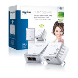 Devolo dLAN 500 WiFi, Bedraad, PowerPlug, Ethernet, IEEE