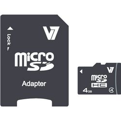 V7 Micro SDHC 4GB 4GB MicroSDHC Klasse 4 flashgeheugen