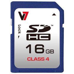 V7 VASDH16GCL4R-2E 16GB SDHC Klasse 4 flashgeheugen