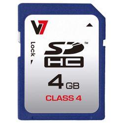 V7 SDHC 4GB 4GB SDHC Klasse 4 flashgeheugen