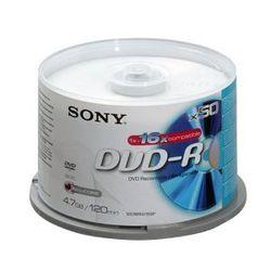 Sony DVD-R 16x, 50 4.7GB DVD-R 50stuk(s)