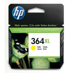 HP 364XL originele high-capacity gele inktcartridge