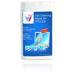 V7 VCL1522 LCD/TFT/Plasma Equipment cleansing wet cloths computerreinigingskit-VCL1522