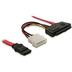 DeLOCK 82634 0.5m SATA-kabel