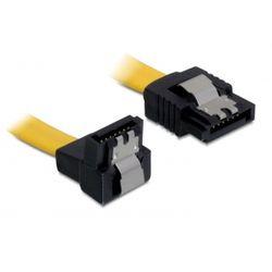 DeLOCK 0.2m SATA M/M SATA-kabel 0,2 m Geel