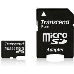 Transcend 16GB microSDHC Class 10 UHS-I flashgeheugen Klasse 10