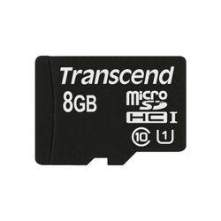 Transcend 8GB microSDHC Class 10 UHS-I flashgeheugen Klasse 10 MLC