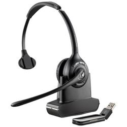 Plantronics SAVI W410 Monauraal Hoofdband Zwart hoofdtelefoon