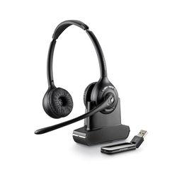 Plantronics SAVI W420 Stereofonisch Hoofdband Zwart hoofdtelefoon
