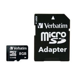 Verbatim Premium 8GB MicroSDHC Klasse 10 flashgeheugen
