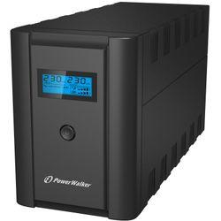 PowerWalker VI 2200 SHL Schuko UPS 2200 VA 4 AC-uitgang(en)