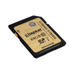 Kingston Technology SDHC/SDXC Class 10 UHS-I 64GB 64GB SDXC
