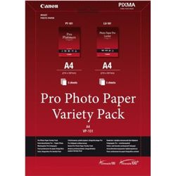 Canon Pro Photo Paper Variety Pack A4 A4 (210×297 mm) pak
