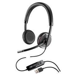 Plantronics Blackwire C520-M Stereofonisch Hoofdband Zwart