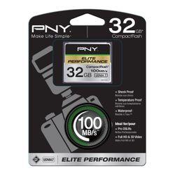 PNY CompactFlash 32GB 32GB CompactFlash flashgeheugen