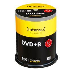 MED DVD+R Intenso / 4.7 GB 16x / 100er CakeBox