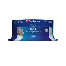 Verbatim 43811 Lees/schrijf blu-ray disc BD-R 25 GB 25