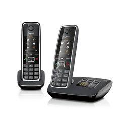 Gigaset C530A Duo DECT-telefoon Zwart Nummerherkenning