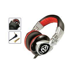 Numark RED WAVE Zwart, Rood Supraaural Hoofdband koptelefoon