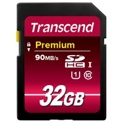 Transcend 32GB SDHC Class 10 UHS-I 32GB SDHC Klasse 10