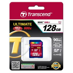 Transcend SDXC Card 128GB Class 10 UHS 128GB SDXC UHS Klasse